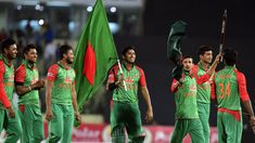 The picture of Bangladesh cricketers is shown in the picture. They finish the game with a very good attitude. Bangladeshi cricketers come to the playground with morale on the chest and ensure victory. Cricket Update, Cricket News, Champions Trophy, Good Attitude, Pakistan, Kimono Top, Saree, Collection, Women