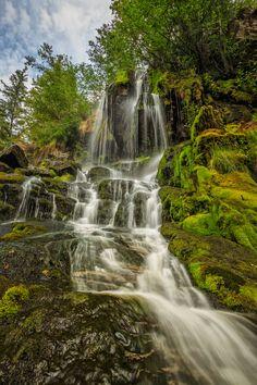 Naramata Summer Falls Okanagan Falls, Canada