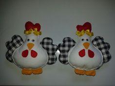 Prendedor de cortina de galinha