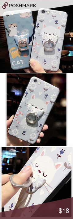 iPhone 7/8 Case Brand new never used! Cute  cat iPhone 7/8 case. Accessories Phone Cases
