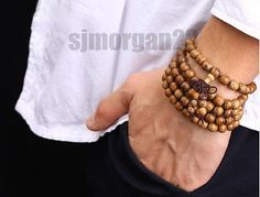 108 prayer beads #tibetan buddhist mala buddha bracelet worry #rosary #wooden u,  View more on the LINK: 	http://www.zeppy.io/product/gb/2/131620995503/