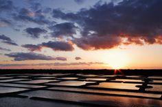 Les marais salants de Bretagne