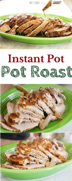 Instant Pot Pot Roast with Gravy | homemadeforelle.com