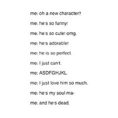 HHAHAHA, *slowly dying off* hahaha... *sigh* *whispers* attack on titan got me like this...