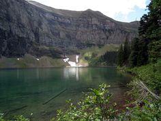 Akamina Ridge trail - Wall Lake