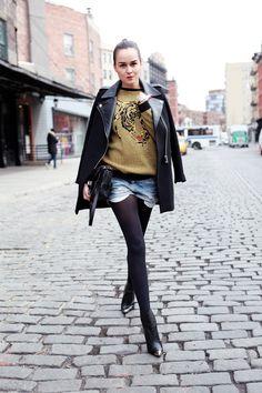 Style Scrapbook: PRE BLIZZARD