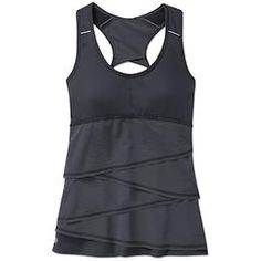 Swagger Tank - Tiered mesh adds a cool flair to this lightweight, breathable tank with front and back reflectivity.