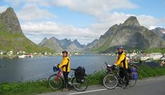 8 day bicycle and camping ride in Northern Norway --> Lofoten! :)