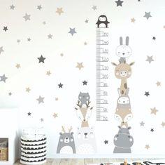 Baby Bedroom, Baby Boy Rooms, Baby Room Decor, Girls Bedroom, Modern Room Design, Kids Room Design, Baby Room Wall Stickers, Kids Room Furniture, Art Wall Kids