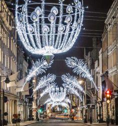 Christmas Lights on New Bond Street