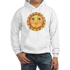Sun Face #3 - Summer Hoodie on CafePress.com