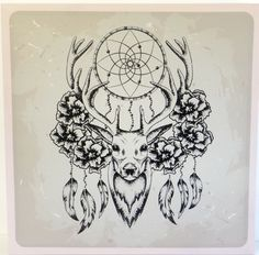 HOT ITEM! Dream Catcher Deer Head Picture Art Canvas ~Ready to Hang~60cm square $39.00 http://www.wallartroad.com/hot-item-dream-catcher-deer-head-picture-art-canvas-ready-to-hang-60cm-square/ #wallartroad #canvas #deer #dreamcatcher