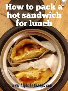 Alphabet Hoops: How to pack a Pocket Pie for school lunch ~ Worked great for us! Rolled up tortillias with sauce, pepperoni and cheese. Wrapped in foil and the boys said the cheese was still all melty.