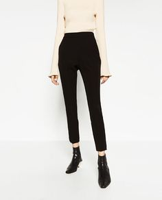 ZARA - COLLECTION SS/17 - HIGH-WAIST TROUSERS