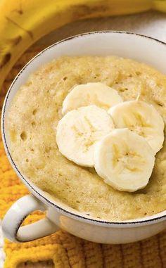 25 Mug Cake Recipes Mug Cake Healthy, Healthy Bread Recipes, Zucchini Bread Recipes, Mug Recipes, Banana Bread Recipes, Healthy Zucchini, Easy Recipes, Banana Dessert Recipes, Chocolate Chip Recipes