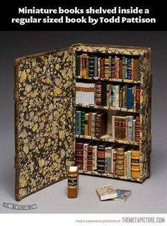 Miniature books…