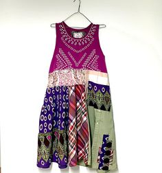 Unique Tunic Dress Plus Size Dress Boho Gypsy Clothes Loose