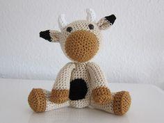 Amigurumi mucca free pattern
