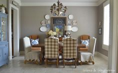 Traditional Cottage/Farmhouse style home tour - Debbiedoo's ....love this home