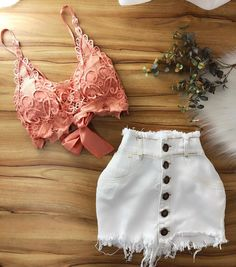💞 Skirt Outfits, Sexy Outfits, Trendy Outfits, Fashion Outfits, Cute Summer Outfits, Spring Outfits, Teen Fashion, Womens Fashion, Tumblr Outfits