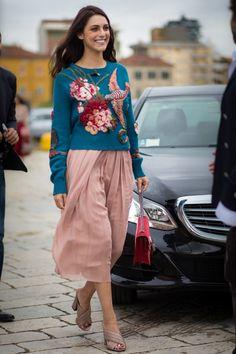 Street style from Milan fashion week spring/summer '16 - Vogue Australia