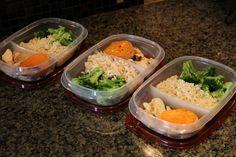 Fitness meal prep & storage for work or school:  http://youtu.be/SkYXfrD2Iek