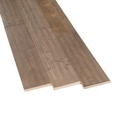 Greige Maple Hand Scraped Solid Hardwood - 3/4in. x 5in. - 100155753 | Floor and Decor