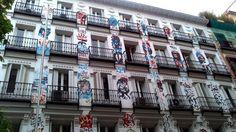 Todo es felicidá. Edificio calle Orellana-Campoamor. Madrid