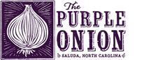 Purple Onion in Saluda NC - great place to eat!