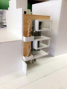 Conceptual Model Architecture, Maquette Architecture, Architecture Model Making, Bamboo Architecture, Concept Architecture, Architecture Details, Interior Architecture, Villa Design, House Design