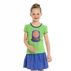 L e-store - Meisje T-shirt met klaver print