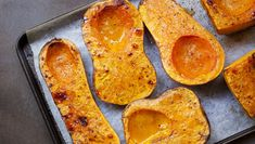 The quintessential fall recipe—delicious roasted butternut squash.