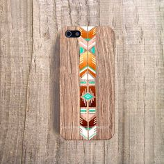 SOUTHWESTERN iPhone 5 Case Wood Print iPhone 4 by casesbycsera, $19.99