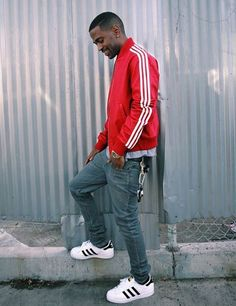 Big Sean in the adidas Superstar
