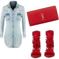 girly by laquinna-bethel on Polyvore featuring polyvore fashion style Privileged Yves Saint Laurent