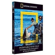 "DVD National Geographic ""Incroyable mais vrai - Les images les plus spectaculaires"""