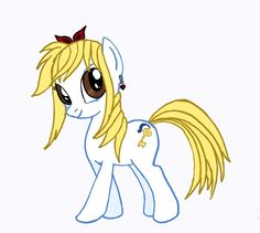 My Little Pony / Fairy Tail mashup. I did the outlines and my daughter did the coloring Lucy Hearfillya :)