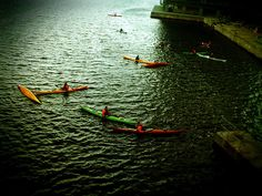 Kayaks in CPH | Flickr by Mads Bodker