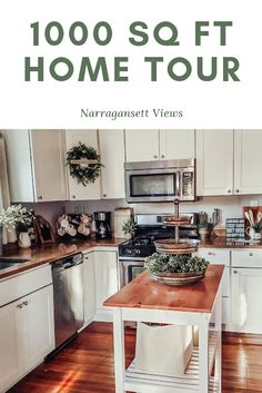 Narragansett Views : Home Tour, 1000 sq ft Small House Living, Small House Plans, Tiny House, Bungalow Renovation, Bungalow House Plans, 900 Sq Ft House, Small Condo Decorating, 1000 Sq Ft, House Design Pictures