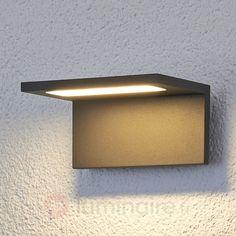 Applique d'extérieur LED Caner plate sicher & bequem online bestellen bei Lampenwelt.de.