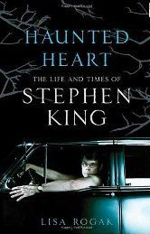 This is Author Lisa Rogaks Bio of Stephen King ( Haunted Heart , The Life and Times of Stephen King ) It has a photo of Stephen King with two sculptures I created for him in the Bio........Sculptures By C.W. Hooper (Chuck)