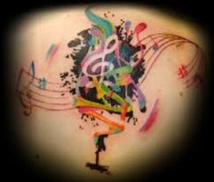 Music Tattoos And Designs; Music Tattoos And Meanings