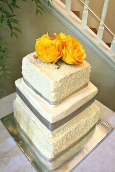 Elegant bridal shower cake #bridalshower #cake