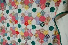 Vintage quilt from Laura Wheeler Friendship Garden quilt pattern.