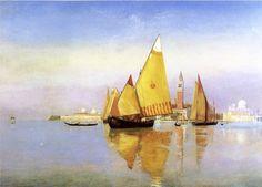 """Henri Roderick Newman """"Lagune Vénitienne"""""""