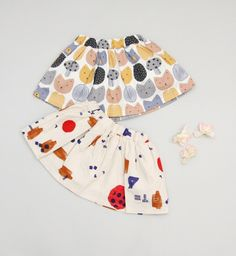 Beige Baby Cream Skirt (2C)