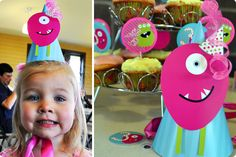 monster party hat #rositadesigns