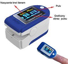 Pulsoksymetr napalcowy PRO-pomiar saturacji tlenem krwi