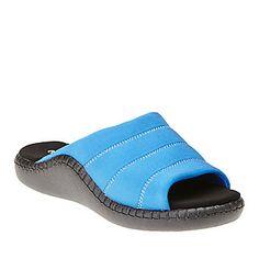 Europedica Monaco Slide Sandals :: Casual Sandals :: Shop now with FootSmart
