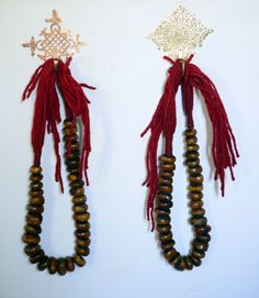 Gorgeous Moroccan necklace from the M.Montague Souk.  Love this piece of Moroccan fashion!